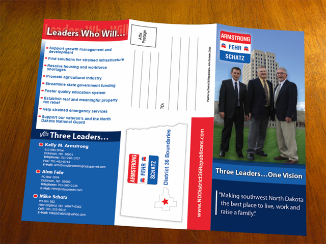 trifold mailers